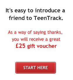 Introduce a friend to TeenTrack